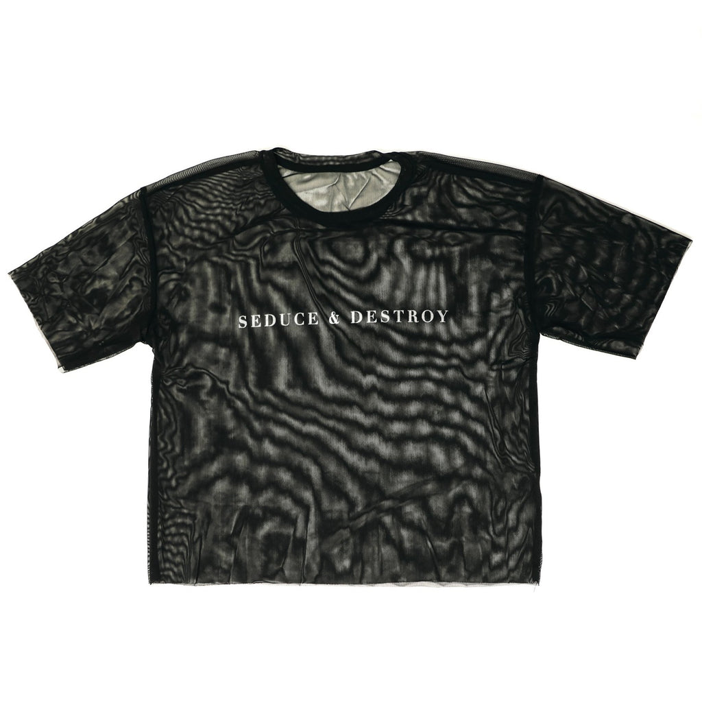 Seduce & Destroy Mesh T-shirt