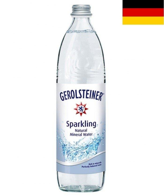 Gerolsteiner (750ml) Natural Mineral Water (Sparkling) - Case/15 Bottles