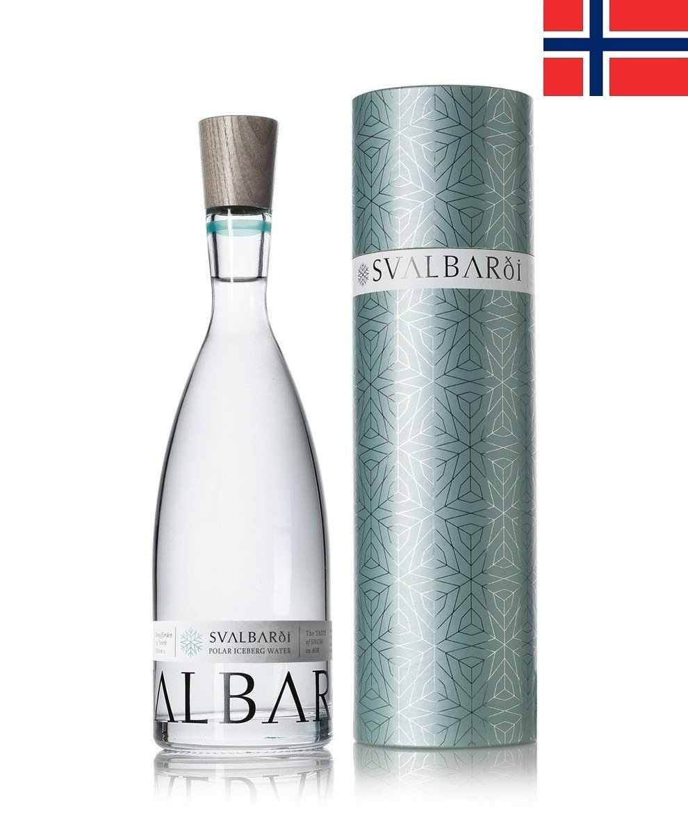 Svalbarði (750ml) Polar Iceberg Water - Glass