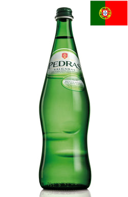 Pedras (750ml) Natural Sparkling Mineral Water - Case/12 Bottles