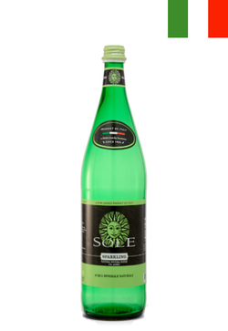 Solé (500ml) L'Italiana Natural Mineral Water (Sparkling) - Case/24 Bottles