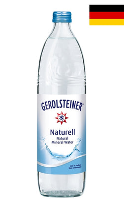 Gerolsteiner (750ml) Natural Mineral Water (Still) - Case/15 Bottles