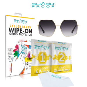 Wipe On Lens Protector for ANY Sunglasses, Glasses