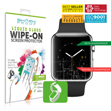Load image into Gallery viewer, Shark Proof™ Liquid Glass Wipe On Screen Protector for ANY Smart Watch Fitness Tracker (4601937854527)