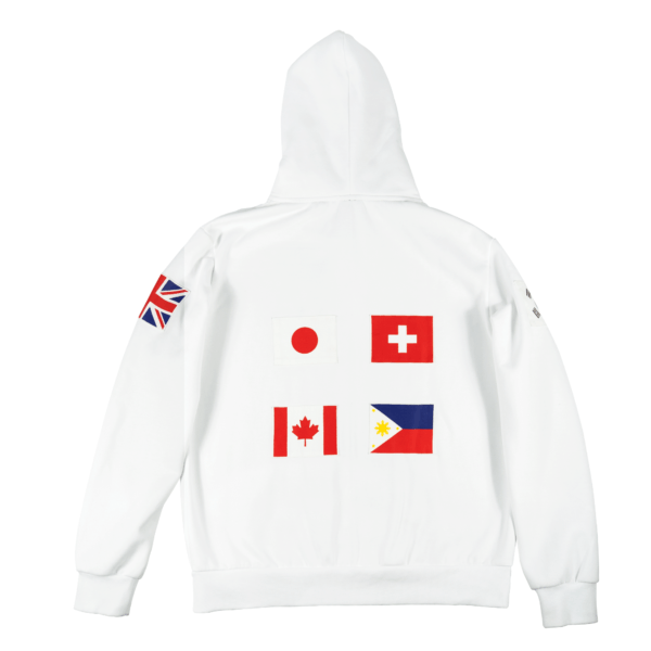 Limited Edition Multinational Hoodie - Skoop Kommunity