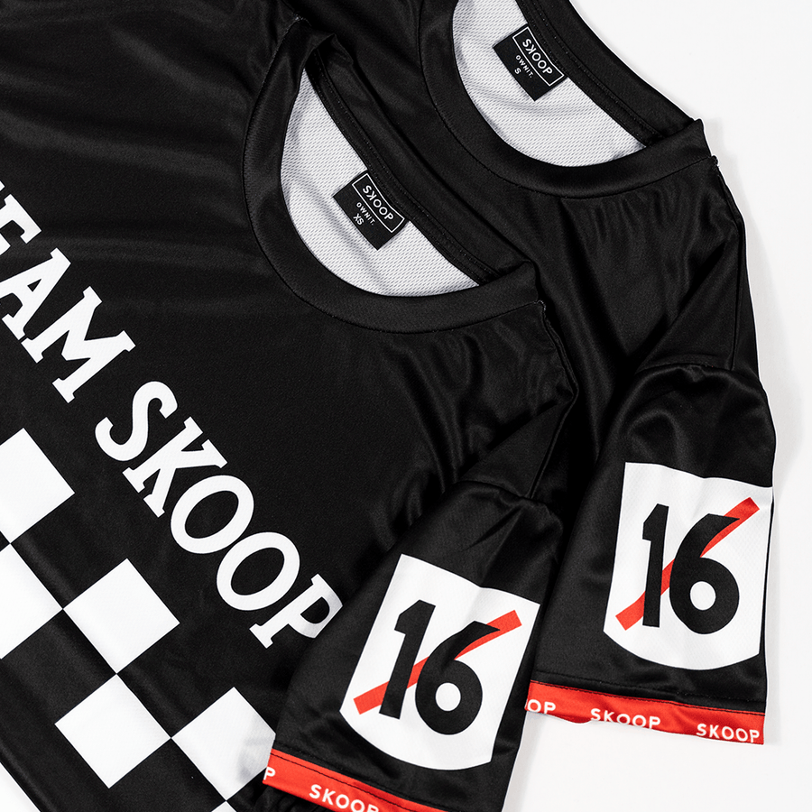 Team Skoop Cycling Black Jersey - Skoop Kommunity