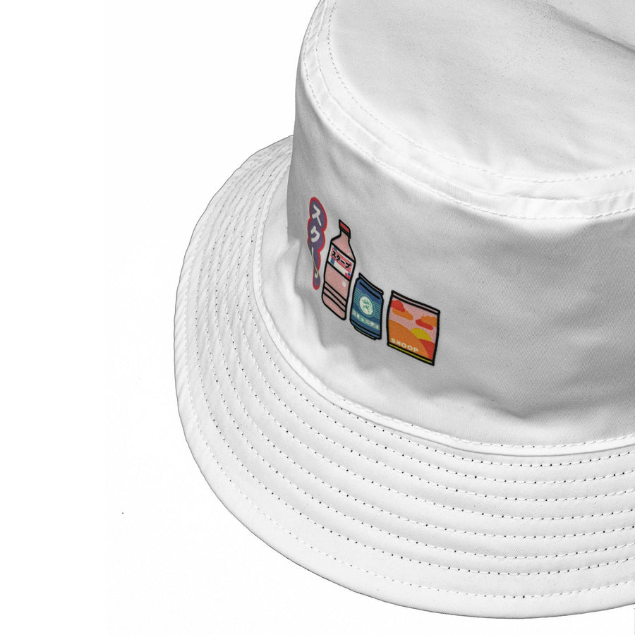 Harajuku Reversible Bucket Hat - Skoop Kommunity