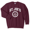 "Gildan Crew Neck Sweatshirt -""School Seal"" - Grey or Maroon"
