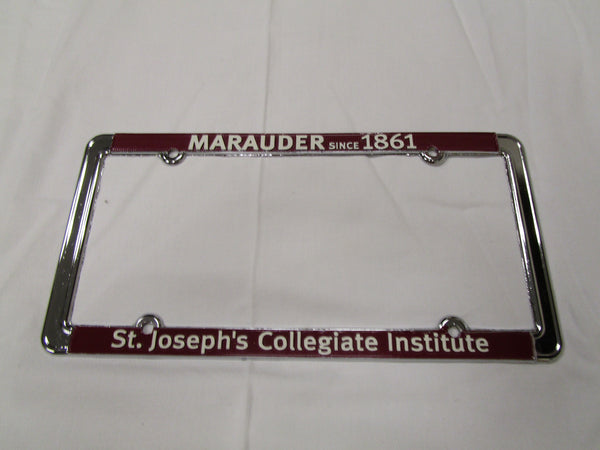 License Plate Frame - Marauder 1861