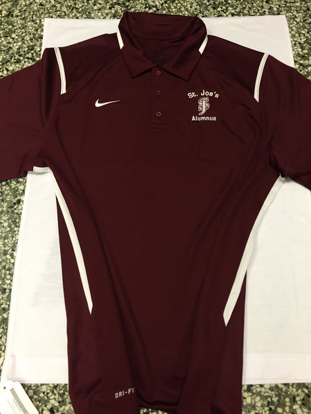 "Polo: Nike ""Game Day"" Alumnus Dri-Fit Polo -(AVAILABLE IN SMALL ONLY) FINAL SALE - NO RETURNS"