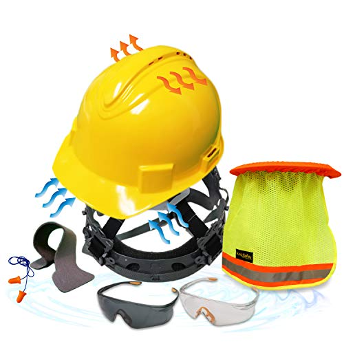 KwikSafety - TURTLE SHELL COMBO | STANDARD HARD HAT, SAFETY GLASSES & MORE