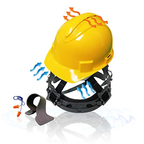 KwikSafety - TURTLE SHELL Standard Cap Style Construction Safety Helmet (Yellow)