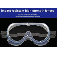 Jinxiyue - Anti-Fog Lightweight Protective Safety Goggles (1 Piece)