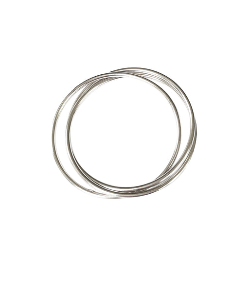 TRINITY STERLING SILVER BANGLES