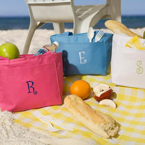 Monogram Lunch Tote
