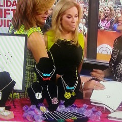 Acrylic Monogram Jewelry - The Today Show