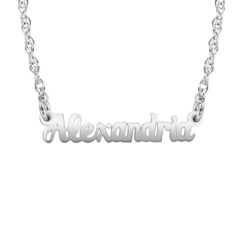 14K Solid Gold Name Necklace 3