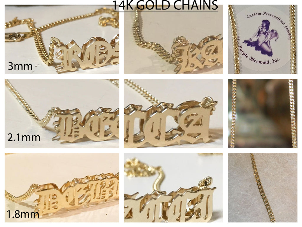 Personalized 3D Name Necklace - Khloe / Kourtney Kardashian