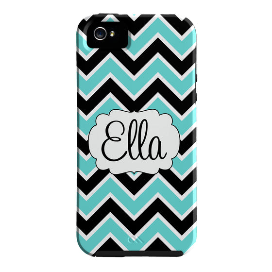 Monogram Chevron Phone Case - iPhone or Samsung
