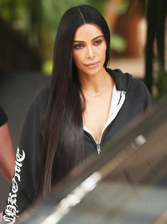 Gothic Name Necklace - Kim Kardashian 6