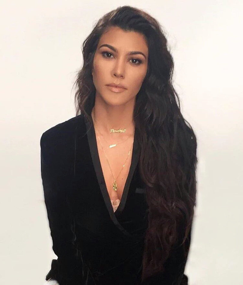 Kourtney Kardashian Photo Necklace 2