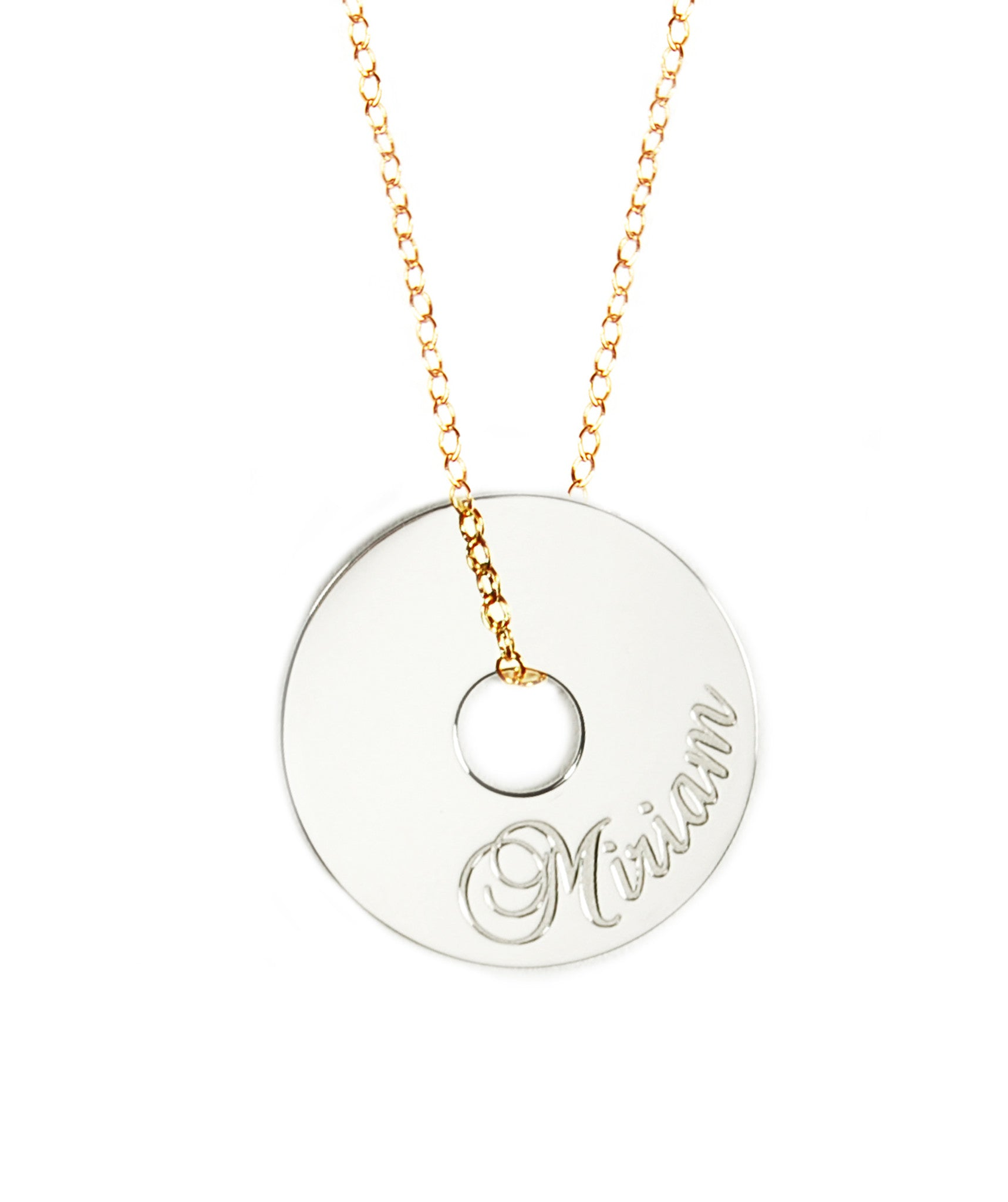 Personalized Token Necklace