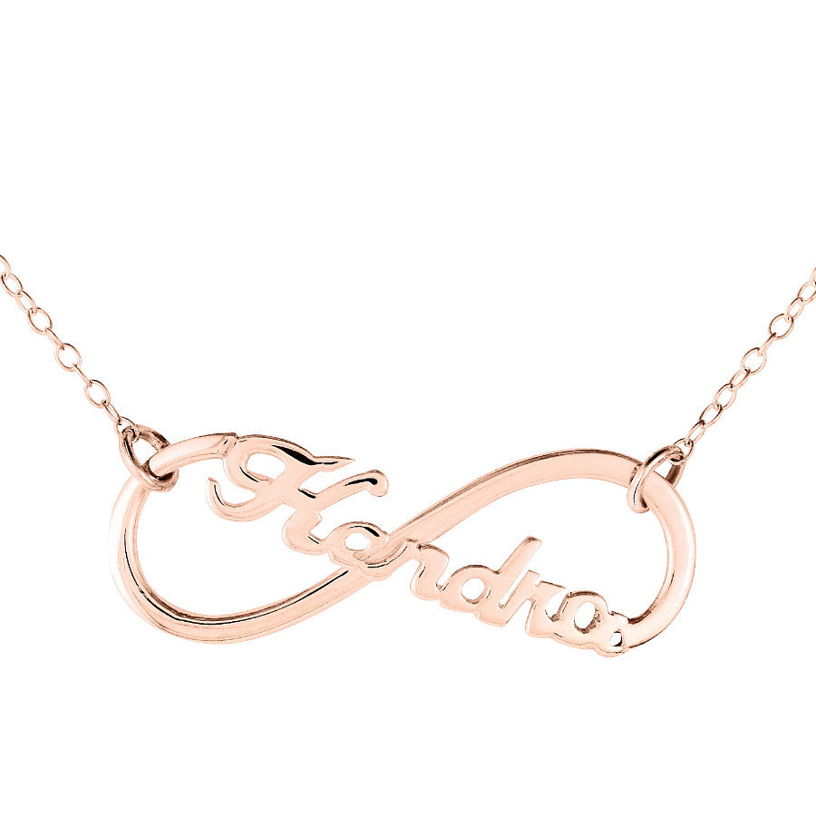 Infinity Name Necklace Alternate 1