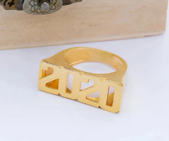Personalized Custom Number Ring