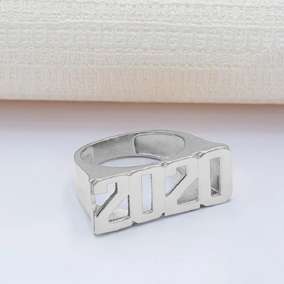 Personalized Custom Number Ring 3