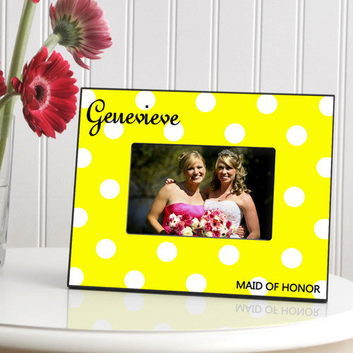 Personalized Picture Frame Bananas