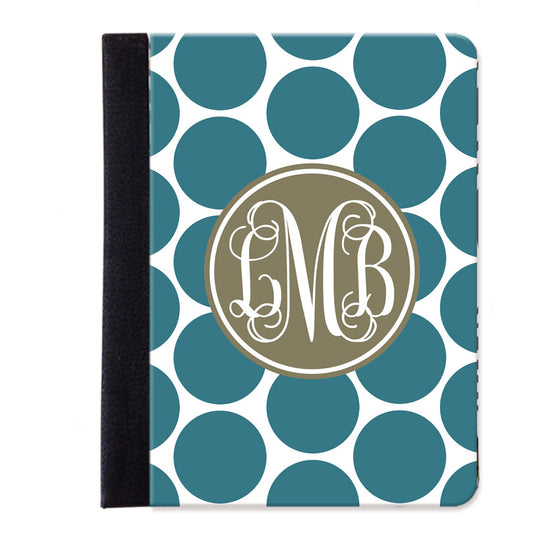 Monogram Folio iPad Case - Dots