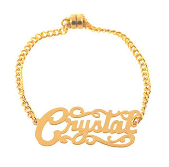 Id Nameplate Bracelet As Seen In Sports Illustrated Swimsuit Edition