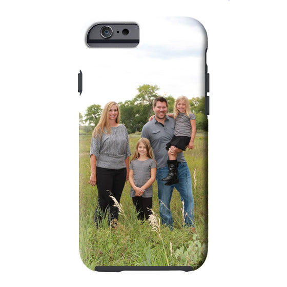 Custom Photo Personalized Phone Case - iPhone or Samsung