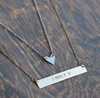 Identity Describe Yourself Statement Necklace 4