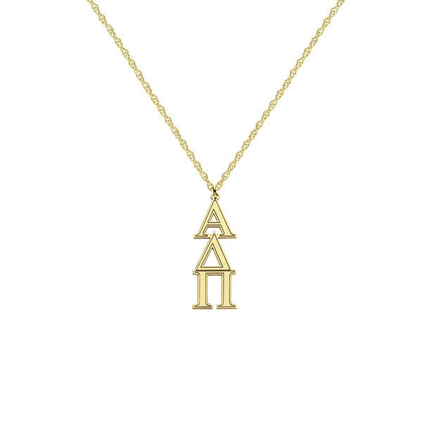 Greek Sorority Lavalier Necklace 2