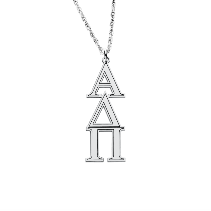 Greek Sorority Lavalier Necklace