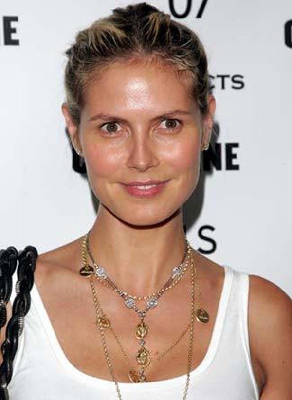 Heidi Klum Family Necklace