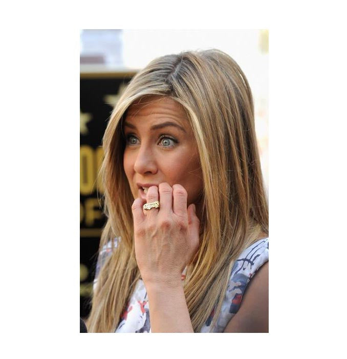 Jennifer Aniston Name Ring