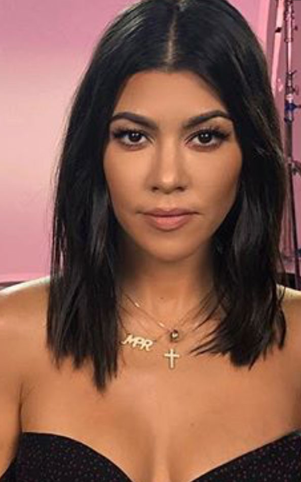 Kourtney Kardashian MPR necklace