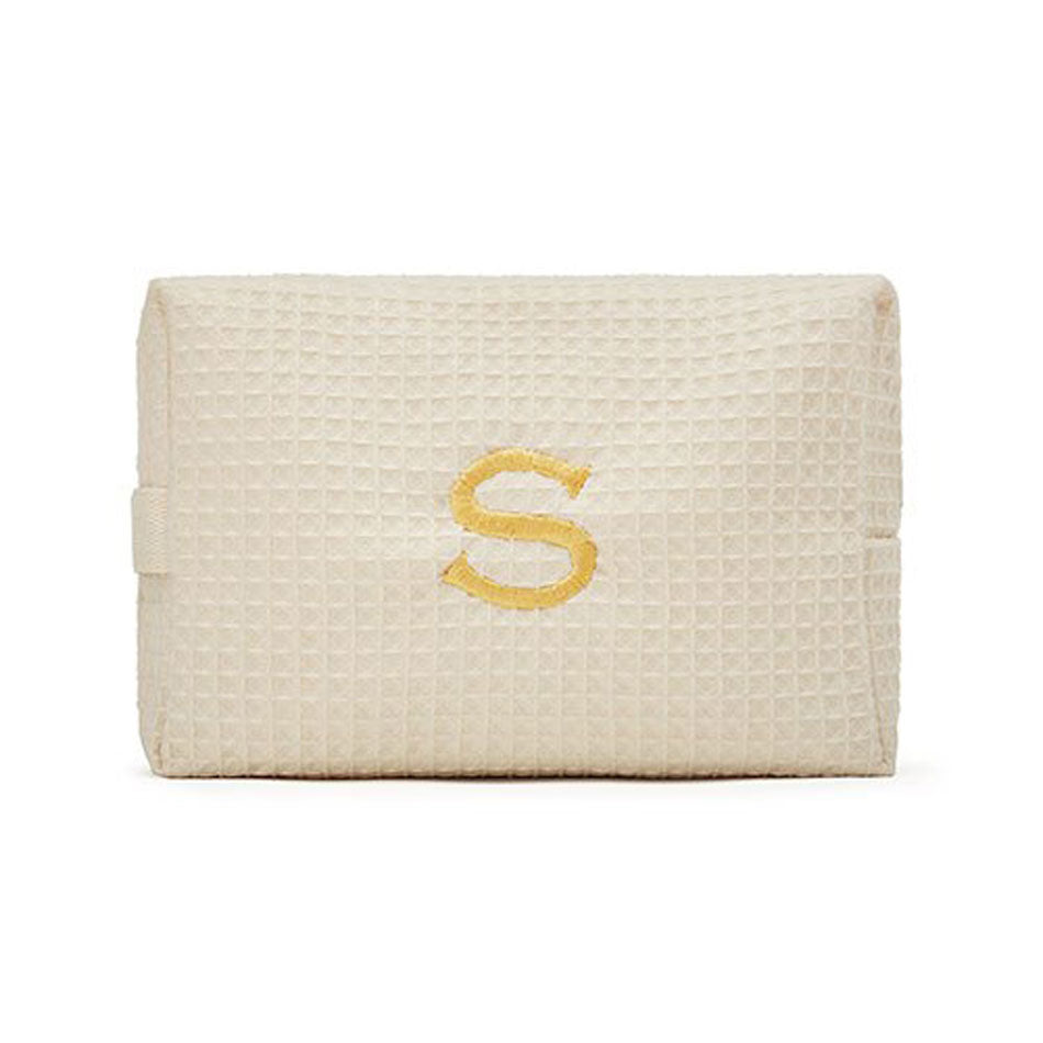 Large Monogrammed Cosmetic Bag 3