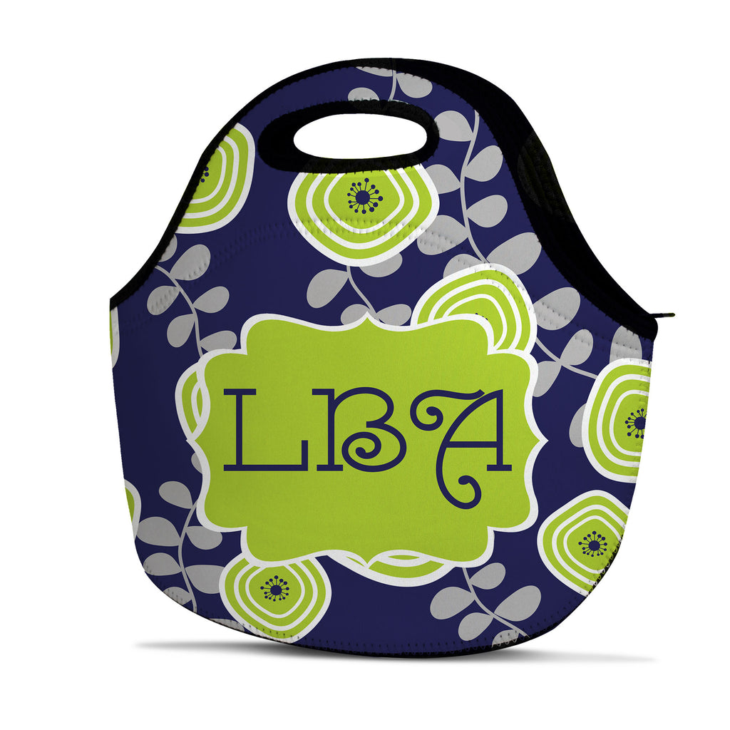 Monogram Lunch Tote - Leaf