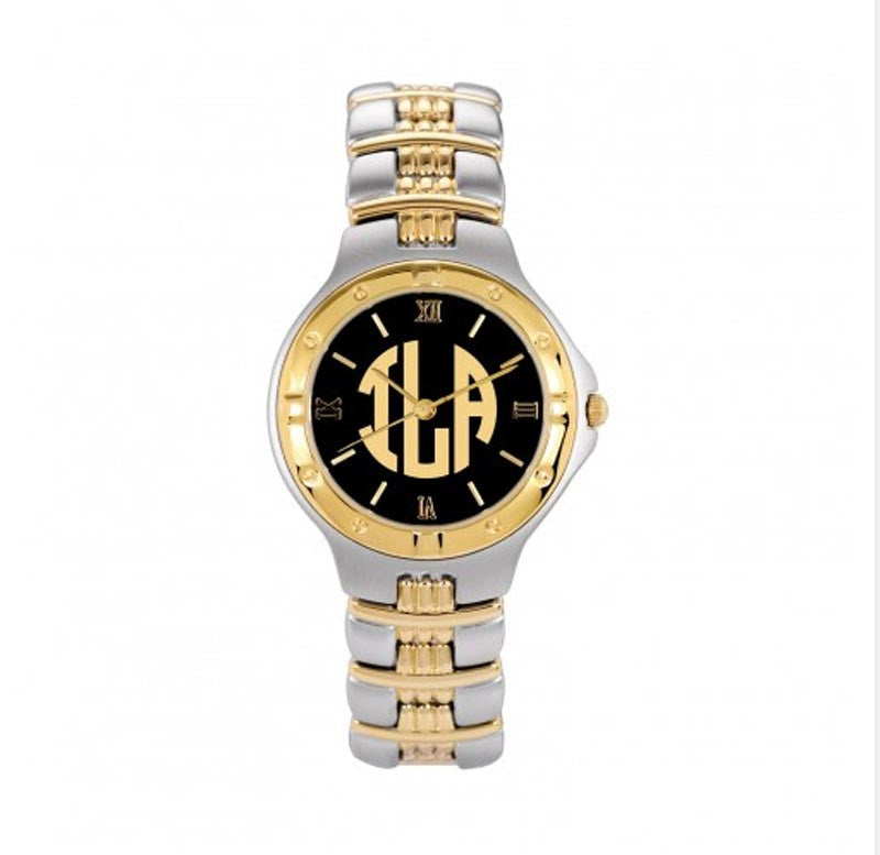 Mens Monogram Watch