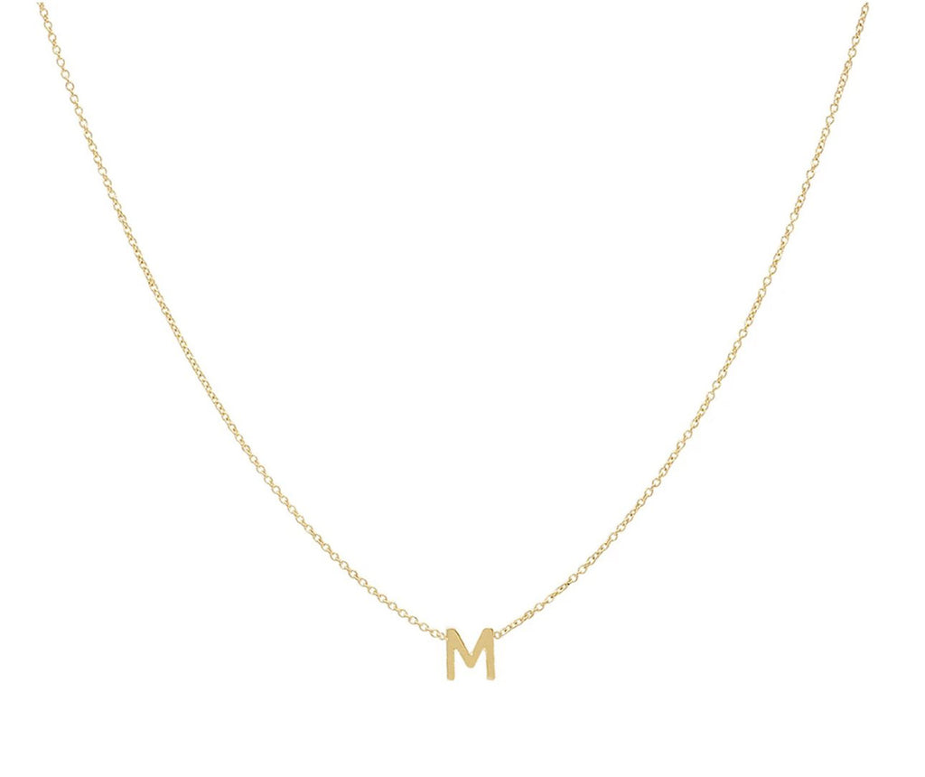 Small Spaced Initial Necklace - Up To 5 Letters 3