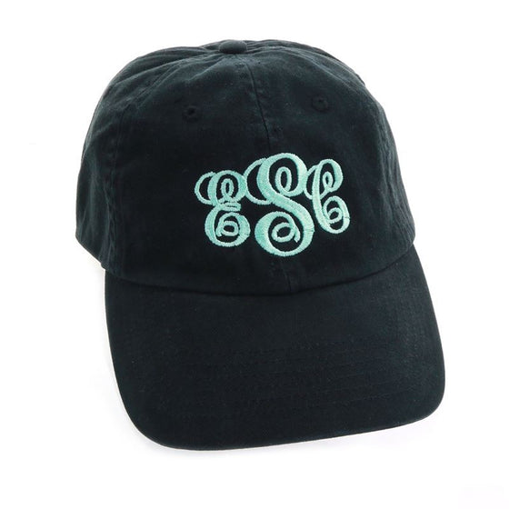 Personalized Baseball Cap-Black