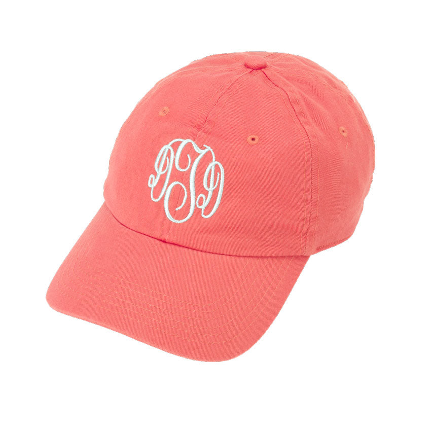 5461d53c Personalized Baseball Cap-Coral - Be Monogrammed
