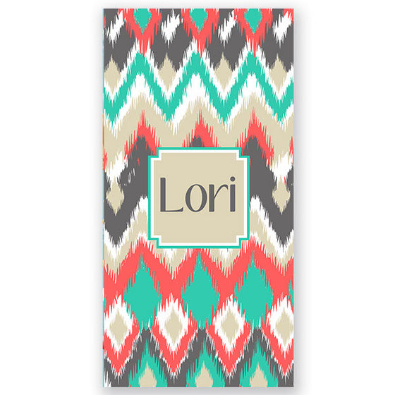 Personalized Beach Towel-Aztec