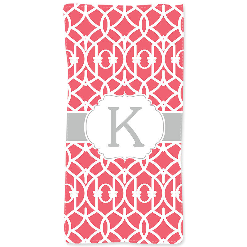 Personalized Beach Towel-Trellis