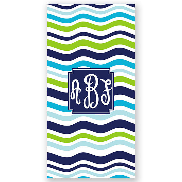 Personalized Beach Towel-Waves