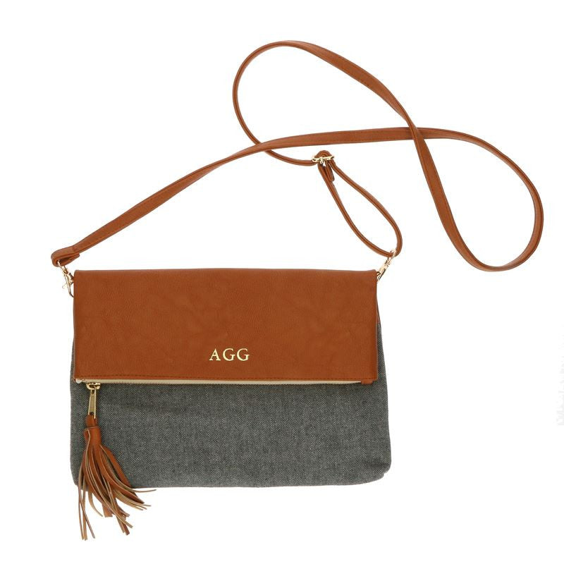 Sidestreet Monogram Crossbody Clutch Bag 3