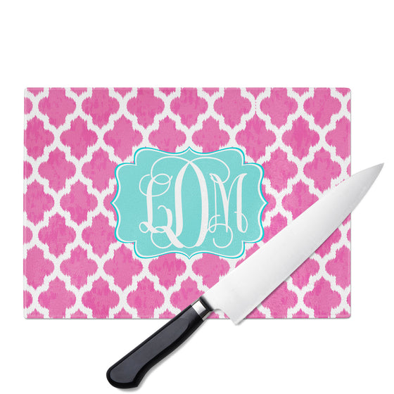 Personalized Glass Cutting Board-iKat